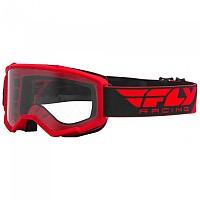 [해외]FLY RACING Focus 2021 Glasses 1138197628 Red