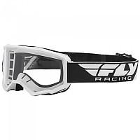 [해외]FLY RACING Focus 2021 Glasses 1138197629 White