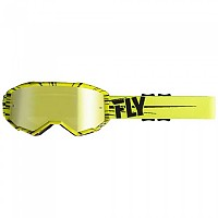 [해외]FLY RACING Zone 2020 Glasses 1138198280 Fluo Yellow / Black