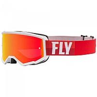 [해외]FLY RACING Zone 2021 Glasses 1138198290 White / Red