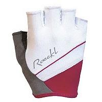 [해외]ROECKL Denice Gloves 1137493035 White / Raspberry