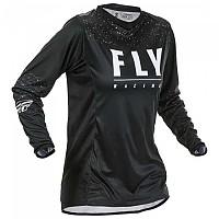 [해외]FLY RACING Lite 2020 Long Sleeve T-Shirt Woman 1138197960 Black / White