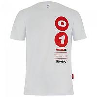 [해외]산티니 La Vuelta 2021 Burgos Short Sleeve T-Shirt 1138102835 White