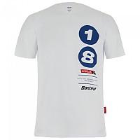 [해외]산티니 La Vuelta 2021 Altu d´El Gamoniteiru Short Sleeve T-Shirt 1138102850 White