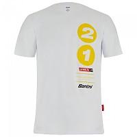 [해외]산티니 La Vuelta 2021 Galicia Short Sleeve T-Shirt 1138102855 White