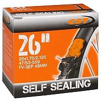 [해외]CST Presta 48 mm Inner Tube With Sealant 1138203231 Black