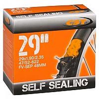 [해외]CST Presta 48 mm Inner Tube With Sealant 1138203232 Black