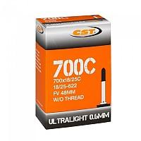 [해외]CST Ultralight Presta 48 mm Inner Tube 1138203243 Black