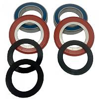 [해외]ENDURO BB86/92 Abec 3 Bottom Bracket Bearing Kit 1138213206 Black