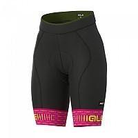 [해외]ALE Green Road Bib Shorts 1137303142 Cyclamen / Fluor Yellow