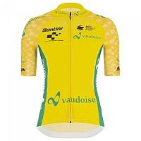 [해외]산티니 Tour De Suisse 2021 General Leader Short Sleeve Jersey 1138103084 Yellow