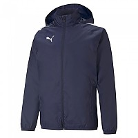 [해외]푸마 TeamLiga All Weather Jacket 3138158845 Peacoat / Puma Black