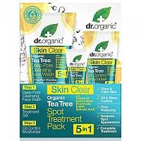 [해외]DR. ORGANIC Skin Clear 5 In 1 Spot Treatment Pack 4138036321 White / Turquoise