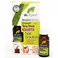 [해외]DR. ORGANIC Tea Tree Nail Solution 10ml 4138036346 White / Yellow