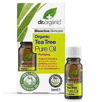 [해외]DR. ORGANIC Tea Tree Pure Oil 10ml 4138036347 White / Yellow