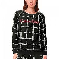 [해외]캘빈클라인 언더웨어 Long Sleeve Nightshirt Pyjama MenS Window Pane / Black