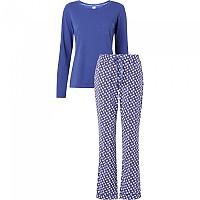 [해외]캘빈클라인 언더웨어 Long Sleeve Set Pyjama Dreamy Star / Soft Grape