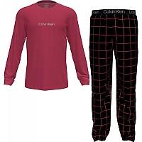 [해외]캘빈클라인 언더웨어 Set Joggers Pyjama Rebellious Top / Window Pane Bottom