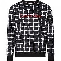 [해외]캘빈클라인 언더웨어 Sweatshirt Window Pane / Printed Black