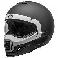[해외]BELL Broozer Cranium Convertible Helmet 9138217143 Matte Black / White