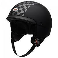 [해외]BELL Scout Air Check Open Face Helmet 9138217208 Matte Black / White