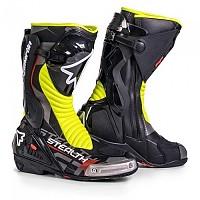 [해외]STYLMARTIN Stealth Evo Motorcycle Boots 9138226555 Black / Yellow