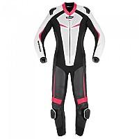 [해외]스피디 Track Perforated Pro Lady Suit 9137892938 Black / Fuchsia