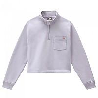 [해외]DICKIES Oakport Half Zip Sweatshirt 9138164437 Lilac Grey