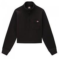 [해외]DICKIES Oakport Half Zip Sweatshirt 9138164438 Black
