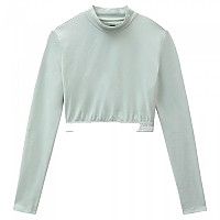 [해외]DICKIES Petersburg Crop Long Sleeve T-Shirt 9138164716 Jadeite