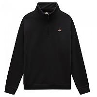 [해외]DICKIES Oakport Half Zip Sweatshirt 9138164431 Black