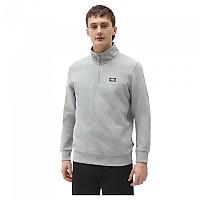 [해외]DICKIES Oakport Half Zip Sweatshirt 9138164432 Grey Melange