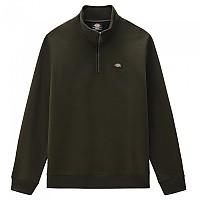 [해외]DICKIES Oakport Half Zip Sweatshirt 9138164433 Olive Green