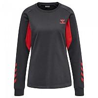 [해외]험멜 Action Cotton Sweatshirt 3138056000 Ebony / Flame Scarlet
