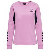 [해외]험멜 Action Cotton Sweatshirt 3138056001 Orchid / Black Iris