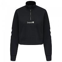 [해외]험멜 Legacy Nikka Cropped Half Zip Sweatshirt 3138223083 Black