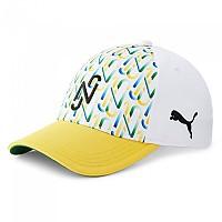[해외]푸마 Neymar Jr Baseball Cap 3138220214 Dandelion / White / Green / Black