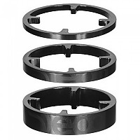 [해외]DEDA HSS 46 mm Carbon Spacers Kit 1138244308 Black