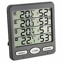 [해외]TFA DOSTMANN 30.3054.10 Klima Wireless Weather Station 4137900160 Grey