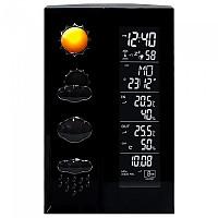 [해외]TECHNOLINE WS 6650 Weather Station 4137902408 Black