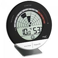 [해외]TFA DOSTMANN 30.5032 Mould Radar Digital Thermometer 4137947295 Black / Silver