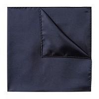 [해외]휴고 Pocket Square 33X33cm Tie Dark Blue