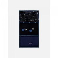 [해외]HACKETT Sck Cuf Logo Tie Blue