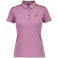 [해외]스캇 10 Casual Short Sleeve Polo Shirt Cassis Pink