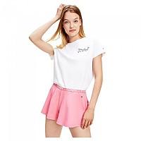 [해외]타미힐피거 언더웨어 Logo T-Shirt Shorts Set Pyjama White / Hamptons Pink