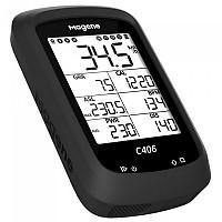 [해외]MAGENE GPS C406 Cycling Computer With Silicone Case And Support 1138210352 Black