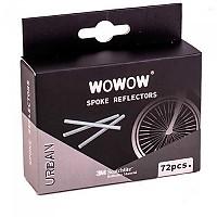 [해외]WOWOW Front/Rear Wheel Reflectors 72 Units 1138244413 Clear