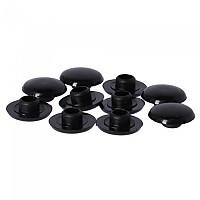 [해외]SCHWARZ Cover Cap For Hexagonal Screw 10 Units 1138241388 Black
