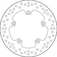 [해외]BREMBO 68B407C2 Front/Rear Brake Disc 9138111455