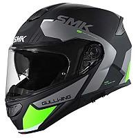 [해외]SMK Gullwing Kresto Modular Helmet 9138243892 Black / Grey / Green